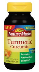 This is the turmeric supplement I'm taking. (Photo from NatureMade.com)